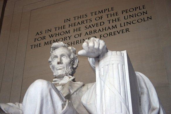 The Lincoln Memorial in Washington, D.C. (Photo credit: Margan Zajdowicz) uanews.org